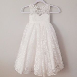 Lan Ting Princess Floor Length Flower Girl Dress